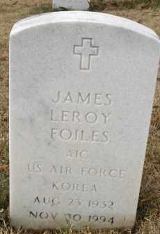 FOILES (VETERAN KOR), JAMES LEROY - Pulaski County, Arkansas | JAMES LEROY FOILES (VETERAN KOR) - Arkansas Gravestone Photos