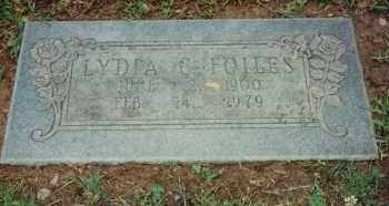 "JOHNSON FOILES, LYDIA CORDELIA ""LID"" - Pulaski County, Arkansas 