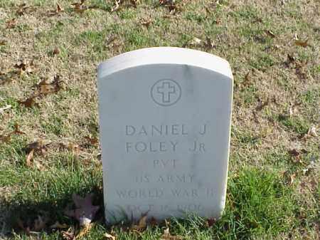 FOLEY, JR (VETERAN WWII), DANIEL J - Pulaski County, Arkansas | DANIEL J FOLEY, JR (VETERAN WWII) - Arkansas Gravestone Photos