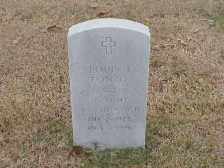 FONZO (VETERAN WWII), LOUIS J - Pulaski County, Arkansas | LOUIS J FONZO (VETERAN WWII) - Arkansas Gravestone Photos