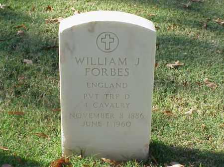 FORBES (VETERAN WWII), WILLIAM J - Pulaski County, Arkansas | WILLIAM J FORBES (VETERAN WWII) - Arkansas Gravestone Photos