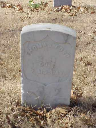 FORD (VETERAN UNION), THOMAS - Pulaski County, Arkansas | THOMAS FORD (VETERAN UNION) - Arkansas Gravestone Photos