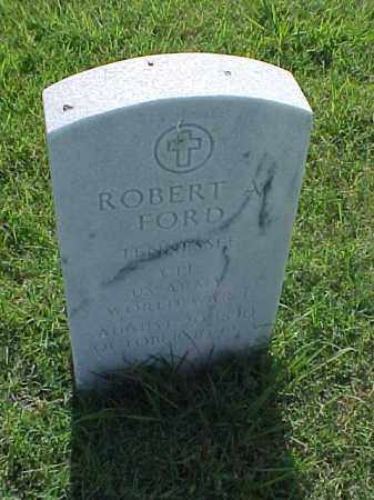 FORD (VETERAN WWI), ROBERT A - Pulaski County, Arkansas | ROBERT A FORD (VETERAN WWI) - Arkansas Gravestone Photos