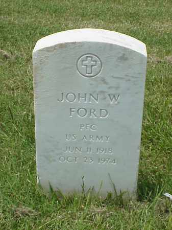 FORD (VETERAN WWII), JOHN W - Pulaski County, Arkansas | JOHN W FORD (VETERAN WWII) - Arkansas Gravestone Photos
