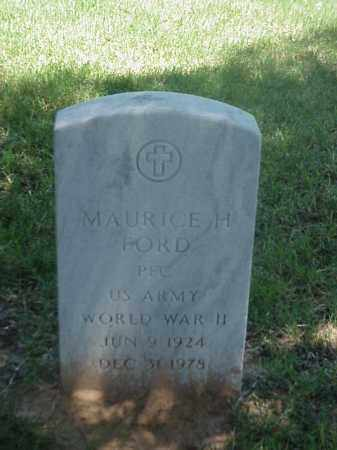 FORD (VETERAN WWII), MAURICE H - Pulaski County, Arkansas | MAURICE H FORD (VETERAN WWII) - Arkansas Gravestone Photos