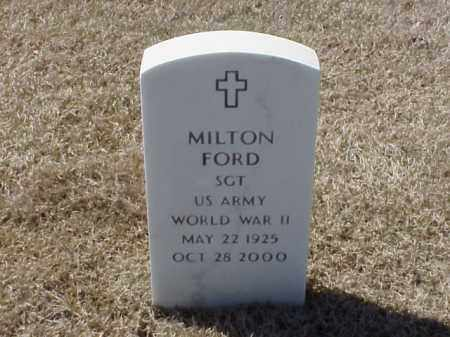 FORD (VETERAN WWII), MILTON - Pulaski County, Arkansas | MILTON FORD (VETERAN WWII) - Arkansas Gravestone Photos