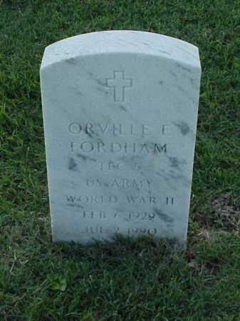 FORDHAM (VETERAN WWII), ORVILLE E - Pulaski County, Arkansas | ORVILLE E FORDHAM (VETERAN WWII) - Arkansas Gravestone Photos
