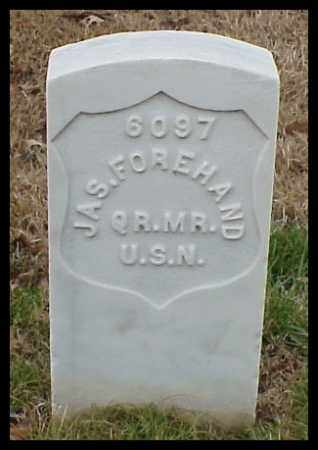 FOREHAND (VETERAN UNION), JAMES - Pulaski County, Arkansas | JAMES FOREHAND (VETERAN UNION) - Arkansas Gravestone Photos
