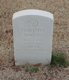 FOREMAN, TIMOTHY DWAIN - Pulaski County, Arkansas | TIMOTHY DWAIN FOREMAN - Arkansas Gravestone Photos