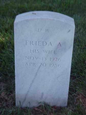 FORRESTER, FRIEDA A - Pulaski County, Arkansas | FRIEDA A FORRESTER - Arkansas Gravestone Photos