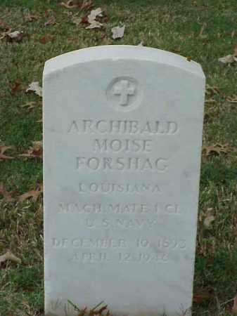 FORSHAG (VETERAN), ARCHIBALD MOISE - Pulaski County, Arkansas | ARCHIBALD MOISE FORSHAG (VETERAN) - Arkansas Gravestone Photos