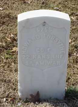 FORSYTHE  (VETERAN SAW), HOWARD - Pulaski County, Arkansas | HOWARD FORSYTHE  (VETERAN SAW) - Arkansas Gravestone Photos