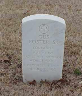 FOSTER, SR (VETERAN WWI), GUS - Pulaski County, Arkansas | GUS FOSTER, SR (VETERAN WWI) - Arkansas Gravestone Photos
