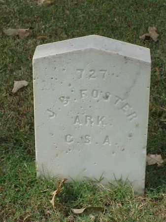 FOSTER (VETERAN CSA), J B - Pulaski County, Arkansas | J B FOSTER (VETERAN CSA) - Arkansas Gravestone Photos