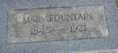 FOUNTAIN, MARY - Pulaski County, Arkansas | MARY FOUNTAIN - Arkansas Gravestone Photos
