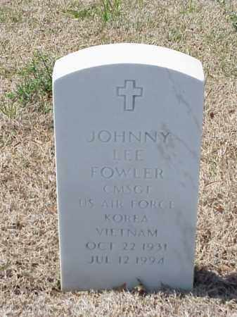 FOWLER (VETERAN 2 WARS), JOHNNY LEE - Pulaski County, Arkansas | JOHNNY LEE FOWLER (VETERAN 2 WARS) - Arkansas Gravestone Photos