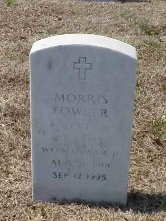 FOWLER (VETERAN WWII), MORRIS - Pulaski County, Arkansas | MORRIS FOWLER (VETERAN WWII) - Arkansas Gravestone Photos