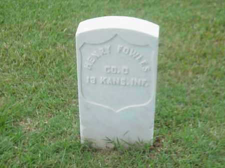 FOWLES (VETERAN UNION), HENRY - Pulaski County, Arkansas | HENRY FOWLES (VETERAN UNION) - Arkansas Gravestone Photos