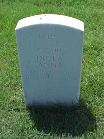 FOX, DIOLA ANNA - Pulaski County, Arkansas | DIOLA ANNA FOX - Arkansas Gravestone Photos