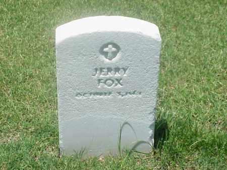 FOX (VETERAN UNION), JERRY - Pulaski County, Arkansas | JERRY FOX (VETERAN UNION) - Arkansas Gravestone Photos