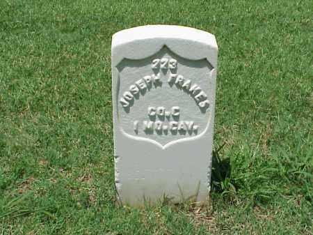 FRAKES (VETERAN UNION), JOSEPH - Pulaski County, Arkansas | JOSEPH FRAKES (VETERAN UNION) - Arkansas Gravestone Photos