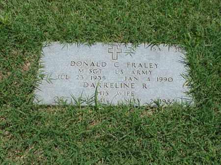 FRALEY (VETERAN 2 WARS), DONALD C - Pulaski County, Arkansas | DONALD C FRALEY (VETERAN 2 WARS) - Arkansas Gravestone Photos