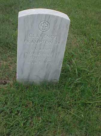 FRAMPTION, JR (VETERAN WWII), CLARENCE - Pulaski County, Arkansas   CLARENCE FRAMPTION, JR (VETERAN WWII) - Arkansas Gravestone Photos