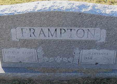 FRAMPTON, MARYANNA - Pulaski County, Arkansas   MARYANNA FRAMPTON - Arkansas Gravestone Photos
