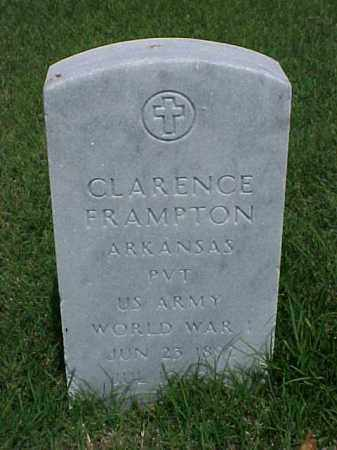 FRAMPTON (VETERAN WWI), CLARENCE - Pulaski County, Arkansas | CLARENCE FRAMPTON (VETERAN WWI) - Arkansas Gravestone Photos