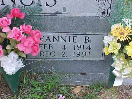 FRANCIS, FANNIE B (CLOSE UP) - Pulaski County, Arkansas | FANNIE B (CLOSE UP) FRANCIS - Arkansas Gravestone Photos