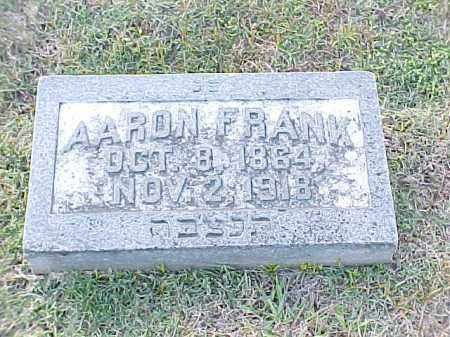 FRANK, AARON - Pulaski County, Arkansas | AARON FRANK - Arkansas Gravestone Photos