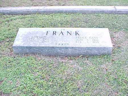 FRANK, FELICE - Pulaski County, Arkansas | FELICE FRANK - Arkansas Gravestone Photos