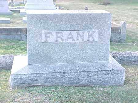 FRANK FAMILY STONE,  - Pulaski County, Arkansas    FRANK FAMILY STONE - Arkansas Gravestone Photos