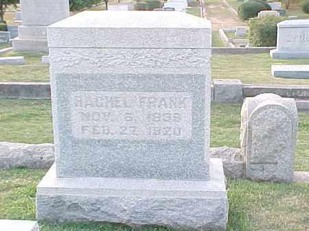 FRANK, RACHEL - Pulaski County, Arkansas | RACHEL FRANK - Arkansas Gravestone Photos