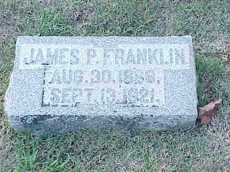 FRANKLIN, JAMES P - Pulaski County, Arkansas | JAMES P FRANKLIN - Arkansas Gravestone Photos