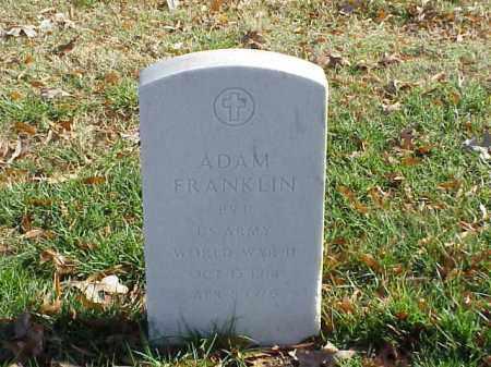 FRANKLIN (VETERAN WWII), ADAM - Pulaski County, Arkansas | ADAM FRANKLIN (VETERAN WWII) - Arkansas Gravestone Photos