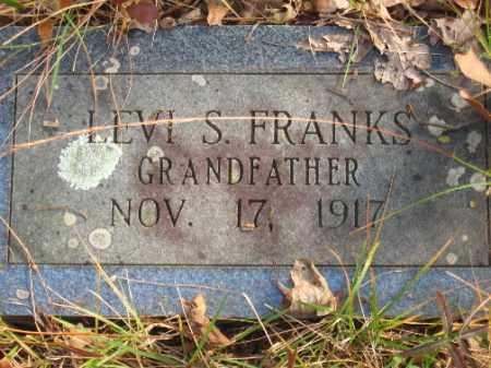 FRANKS, LEVI S - Pulaski County, Arkansas | LEVI S FRANKS - Arkansas Gravestone Photos