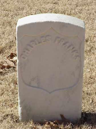 FRANKS (VETERAN UNION), CHARLES - Pulaski County, Arkansas   CHARLES FRANKS (VETERAN UNION) - Arkansas Gravestone Photos