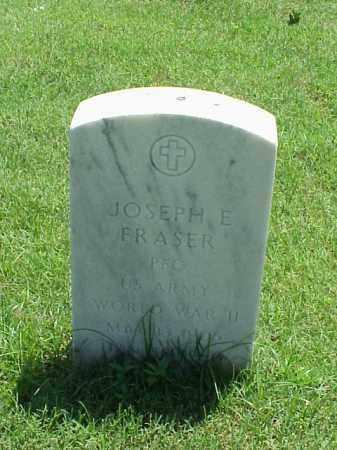 FRASER (VETERAN WWII), JOSEPH E - Pulaski County, Arkansas | JOSEPH E FRASER (VETERAN WWII) - Arkansas Gravestone Photos