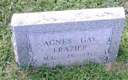 FRAZIER, AGNES GAY - Pulaski County, Arkansas   AGNES GAY FRAZIER - Arkansas Gravestone Photos
