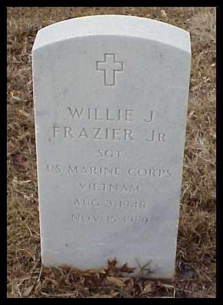 FRAZIER JR (VETERAN VIET), WILLIE J - Pulaski County, Arkansas   WILLIE J FRAZIER JR (VETERAN VIET) - Arkansas Gravestone Photos