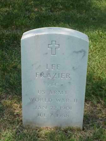 FRAZIER (VETERAN WWII), LEE - Pulaski County, Arkansas | LEE FRAZIER (VETERAN WWII) - Arkansas Gravestone Photos