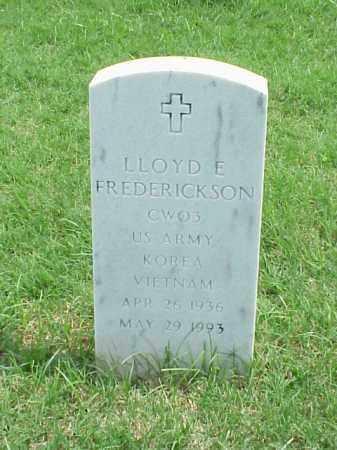 FREDERICKSON (VETERAN 2 WARS), LLOYD E - Pulaski County, Arkansas   LLOYD E FREDERICKSON (VETERAN 2 WARS) - Arkansas Gravestone Photos