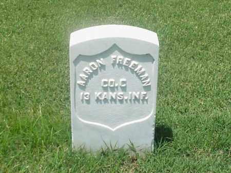 FREEMAN (VETERAN UNION), AARON - Pulaski County, Arkansas | AARON FREEMAN (VETERAN UNION) - Arkansas Gravestone Photos