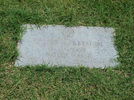FREEMAN (VETERAN WWII), FRANCIS - Pulaski County, Arkansas | FRANCIS FREEMAN (VETERAN WWII) - Arkansas Gravestone Photos