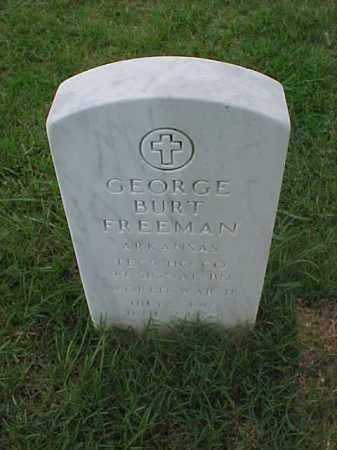 FREEMAN (VETERAN WWII), GEORGE BURT - Pulaski County, Arkansas | GEORGE BURT FREEMAN (VETERAN WWII) - Arkansas Gravestone Photos