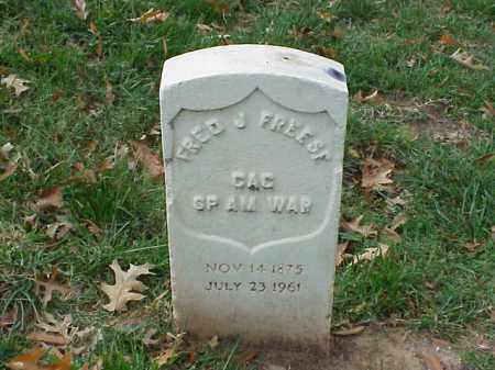 FREESE (VETERAN SAW), FRED J - Pulaski County, Arkansas   FRED J FREESE (VETERAN SAW) - Arkansas Gravestone Photos