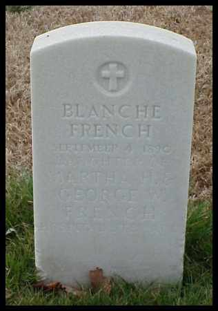 FRENCH, BLANCHE - Pulaski County, Arkansas | BLANCHE FRENCH - Arkansas Gravestone Photos