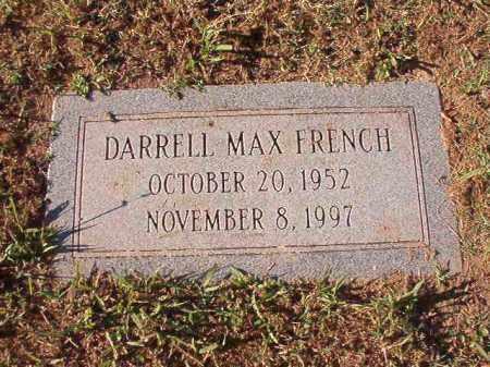 FRENCH, DARRELL MAX - Pulaski County, Arkansas   DARRELL MAX FRENCH - Arkansas Gravestone Photos
