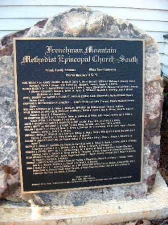 *FRENCHMEN'S MOUNTAIN MEMORIAL,  - Pulaski County, Arkansas |  *FRENCHMEN'S MOUNTAIN MEMORIAL - Arkansas Gravestone Photos